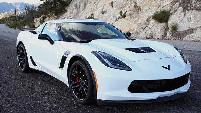 Driven 2016 Chevrolet Corvette Z06 Winding Road