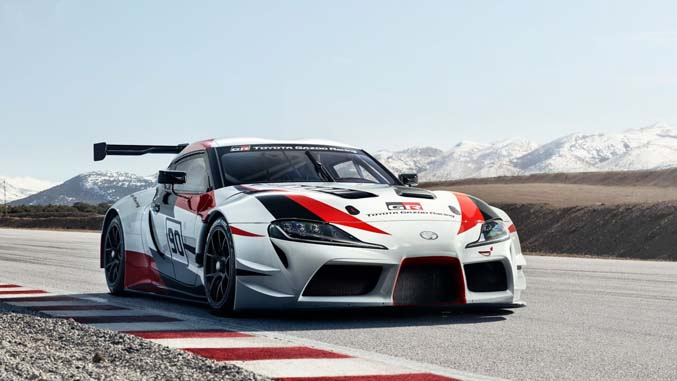 Gran Turismo Sport is getting the GR Supra Racing Concept