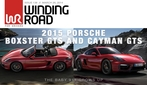 Porsche Boxster GTS and Cayman GTS Thumbnail