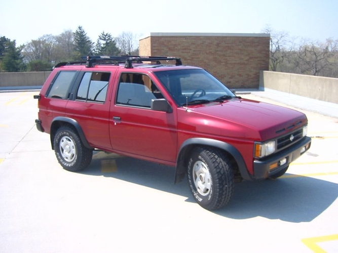 1995 Nissan Pathfinder: I Finally Bought A Car Built In The 90s. 4000  Bucks, Crimson Red, Reliable, And One Of My Favorite SUVs Of All Time.