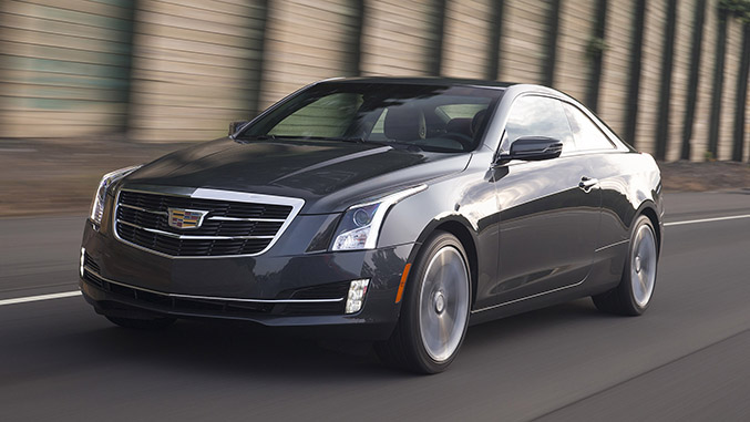 Driven: 2015 Cadillac ATS Coupe 3.6L Premium - Winding Road