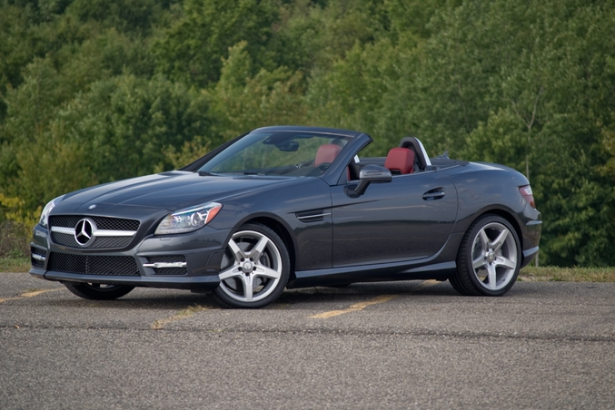 Mercedes SLK350 (2008) review by CAR Magazine